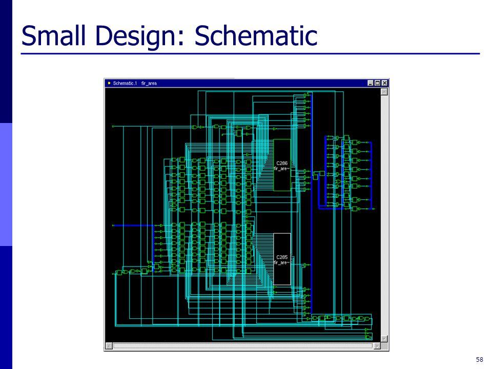 Small Design: Schematic 58