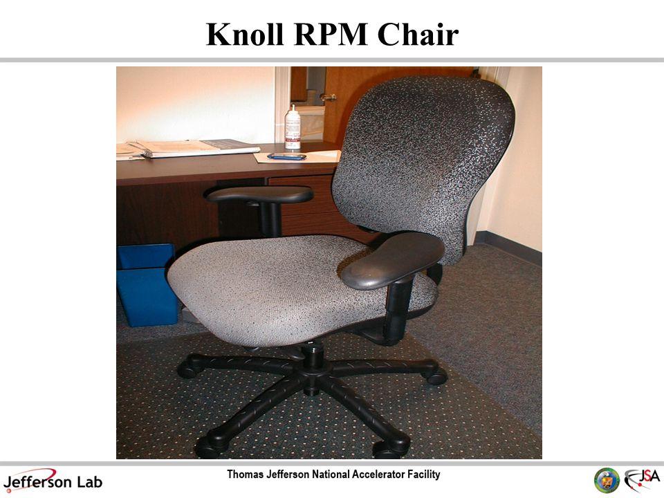 Knoll RPM Chair