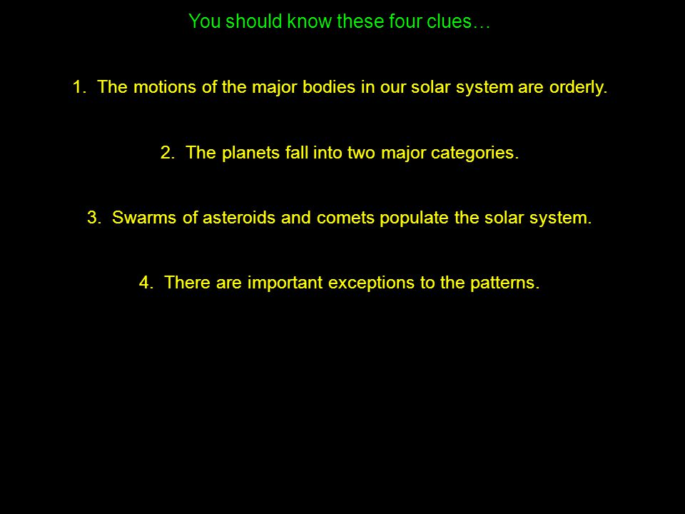 Which explains the two types of planets.