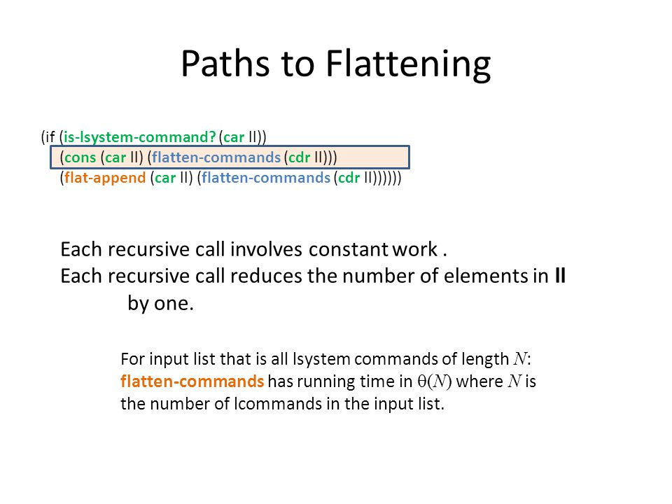 Paths to Flattening (if (is-lsystem-command.