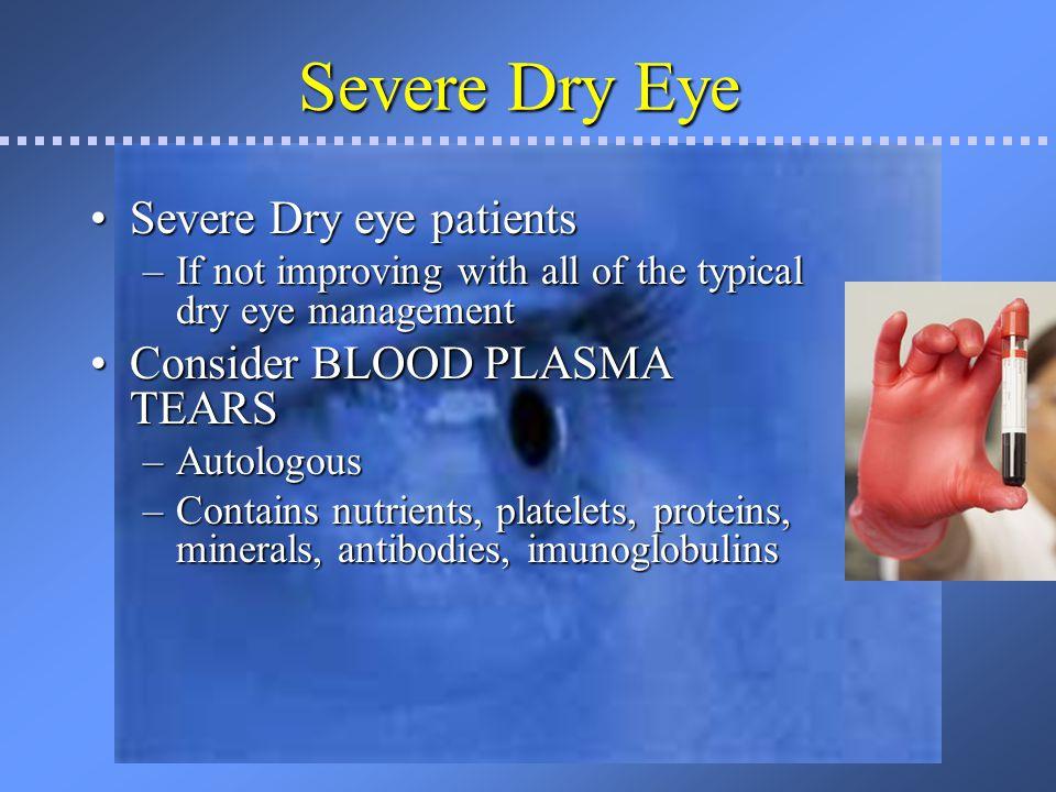 Blood Plasma Tears