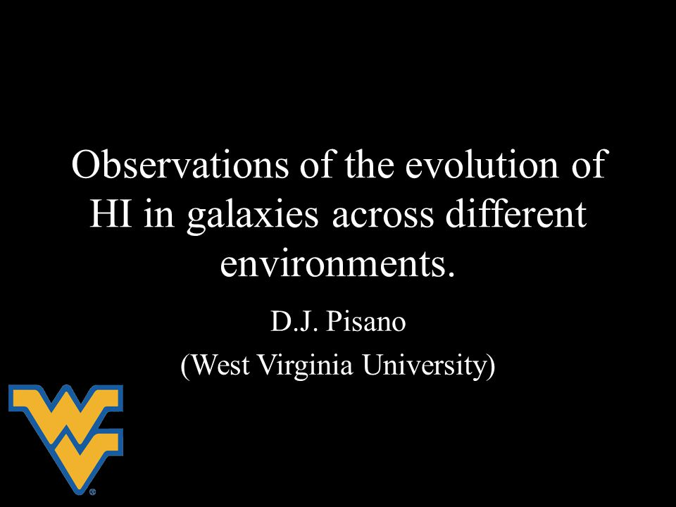 Observations of the evolution of HI in galaxies across different environments.