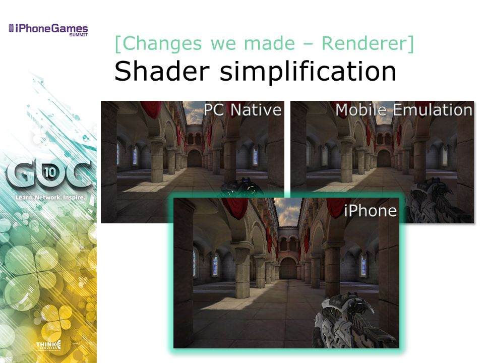 [Changes we made – Renderer] Shader simplification