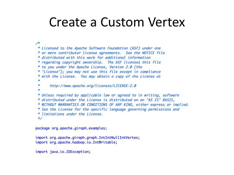 Create a Custom Vertex