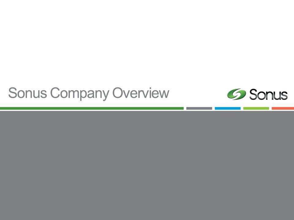 Sonus Company Overview