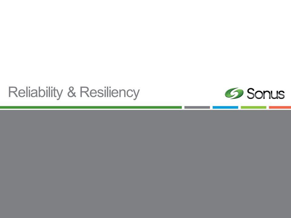 Reliability & Resiliency