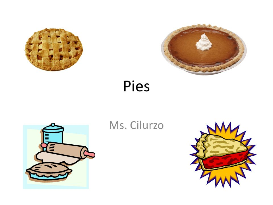 Pies Ms. Cilurzo