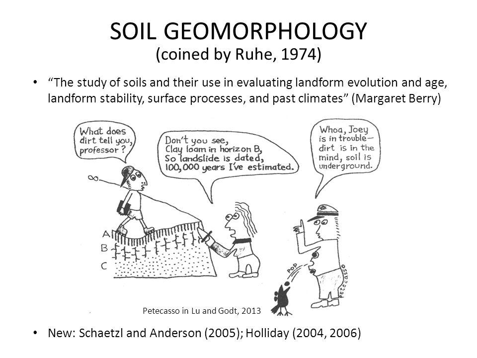 SOIL GEOMORPHOLOGY—EARLY DAYS Jenny USGS-MILITARY GEOLOGY UNIT Morrison Richmond HuntThorp Ruhe (Battleship Iowa) 1941 book ClORPT
