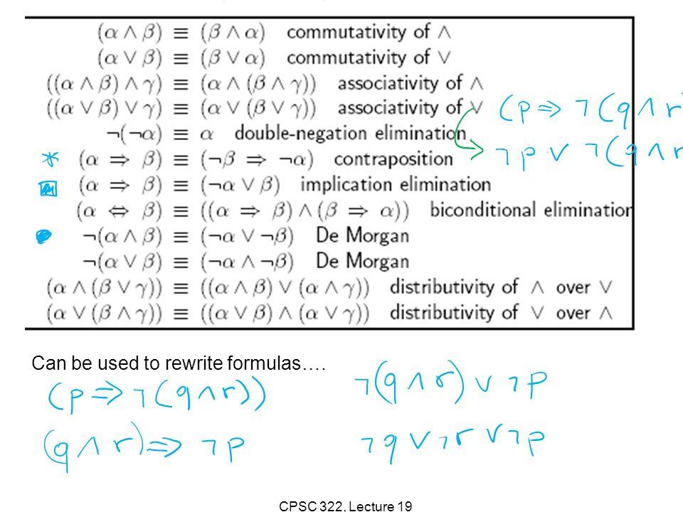 CPSC 322, Lecture 19 interpretations interpretation interpretations