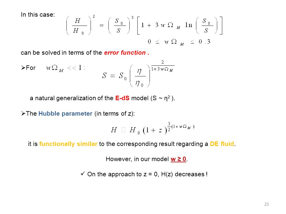 In this case: can be solved in terms of the error function.