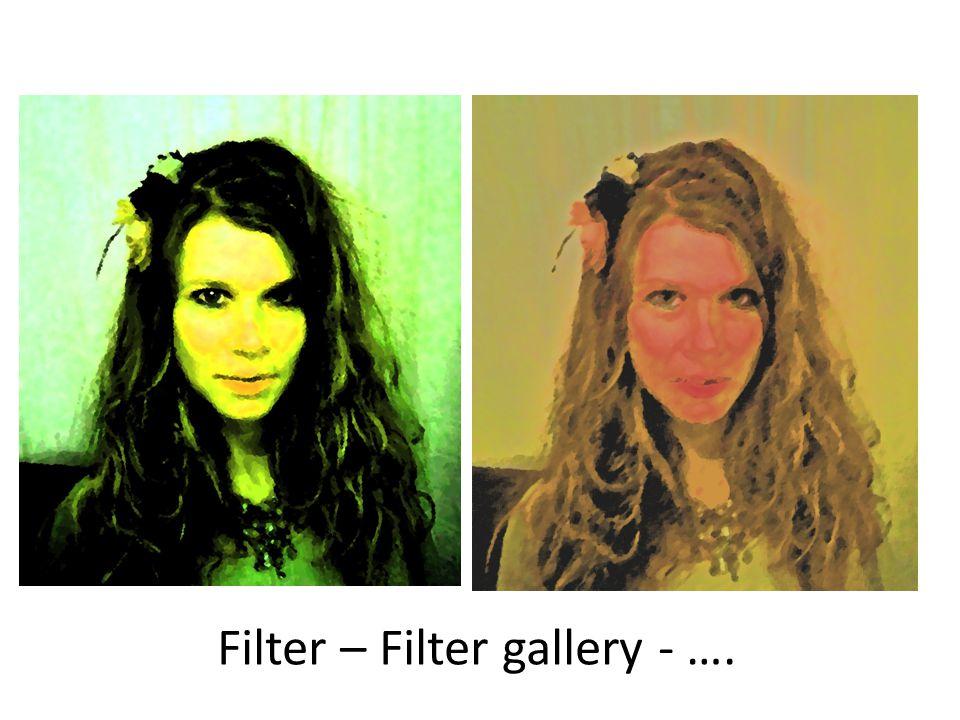 Filter – Filter gallery - ….
