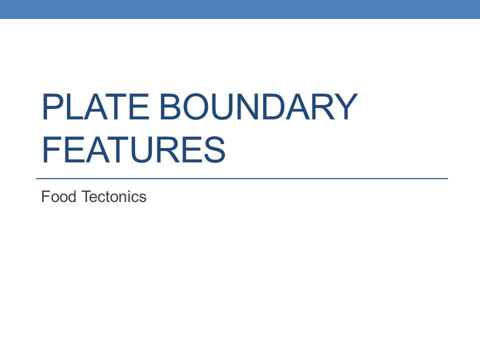Dance of the Plate Boundaries