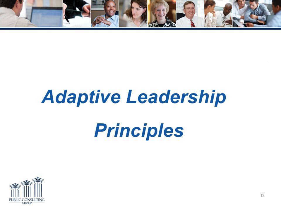 13 Adaptive Leadership Principles Overcoming Trauma