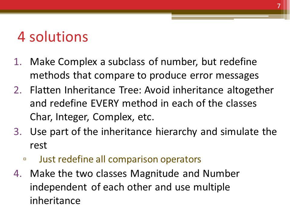 Solution 4: Multiple Inheritance 8