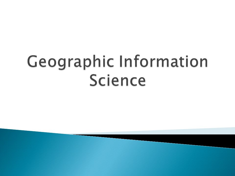  GIS answers the question: Where  GIS helps to design and manage our resources and help improve our world.