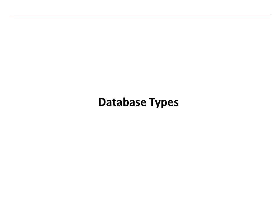 Database Types