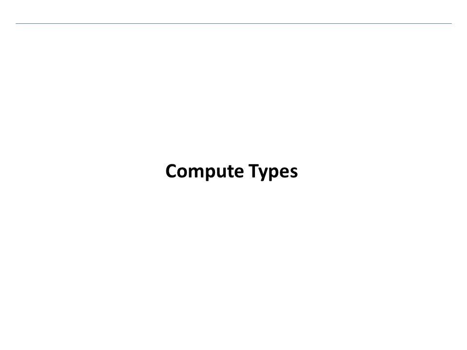Compute Types