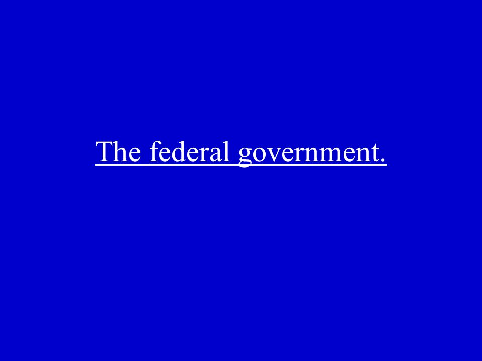 The group to which the federal government owes the largest portion of its debt.