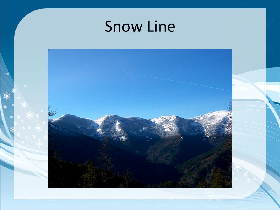 Snowfield c.A snowfield is an almost a motionless mass of permanent snow and ice.