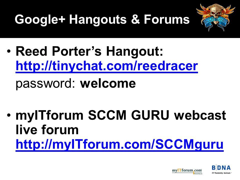 Next SCCM GURU Webcast: Wednesday, January 25, 2012 Reed Porter  www.bdna.com/sccm-guru Wrap Up