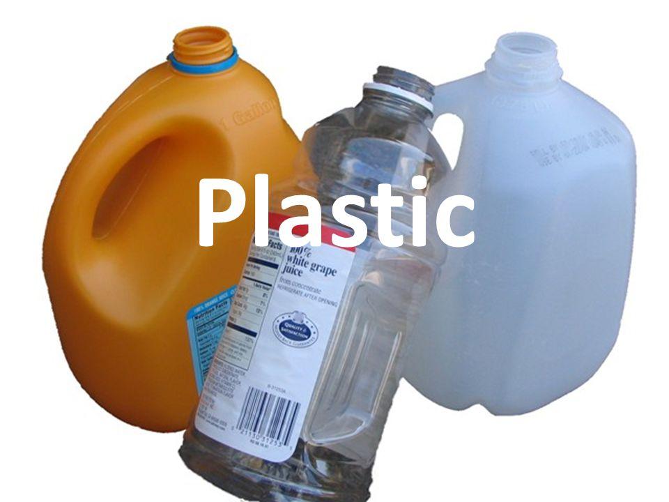 6 Types of Plastic: 1.Polyethlene Terephthalate (PETE) 2.