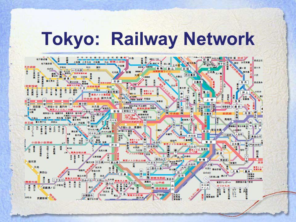 Tokyo: Railway Network