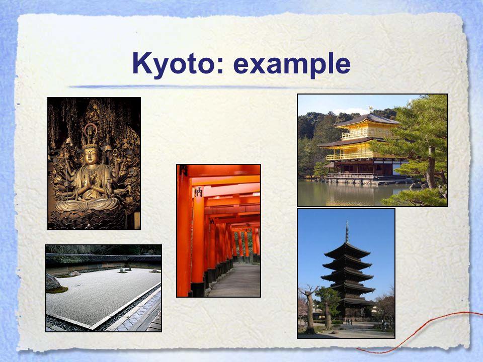 Kyoto: example