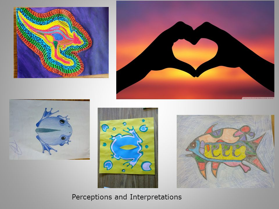 Perceptions and Interpretations