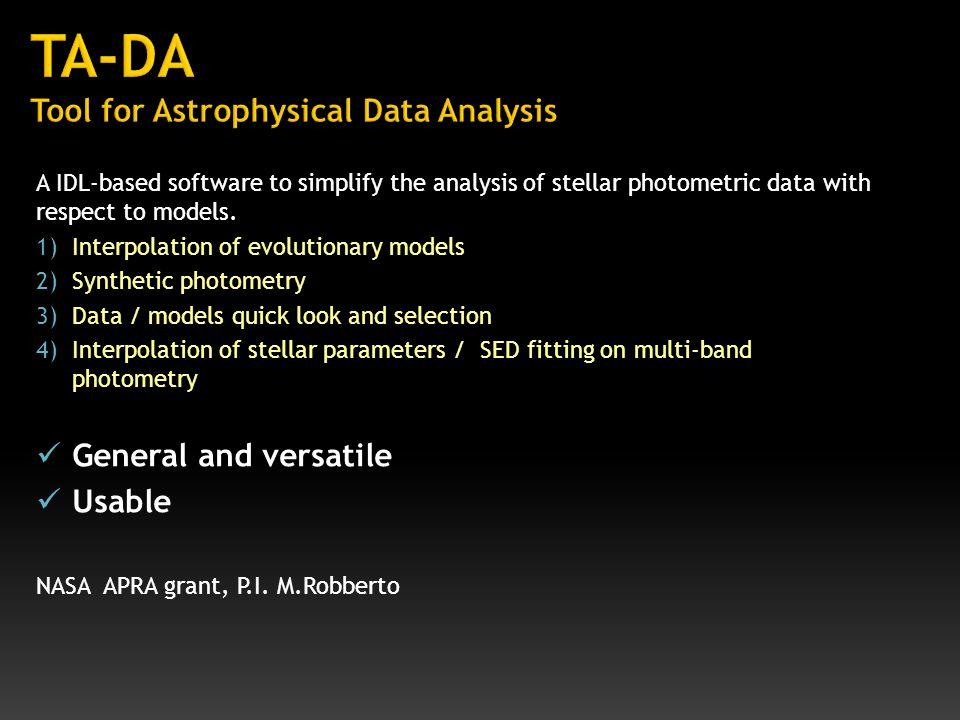 A IDL-based software to simplify the analysis of stellar photometric data with respect to models.
