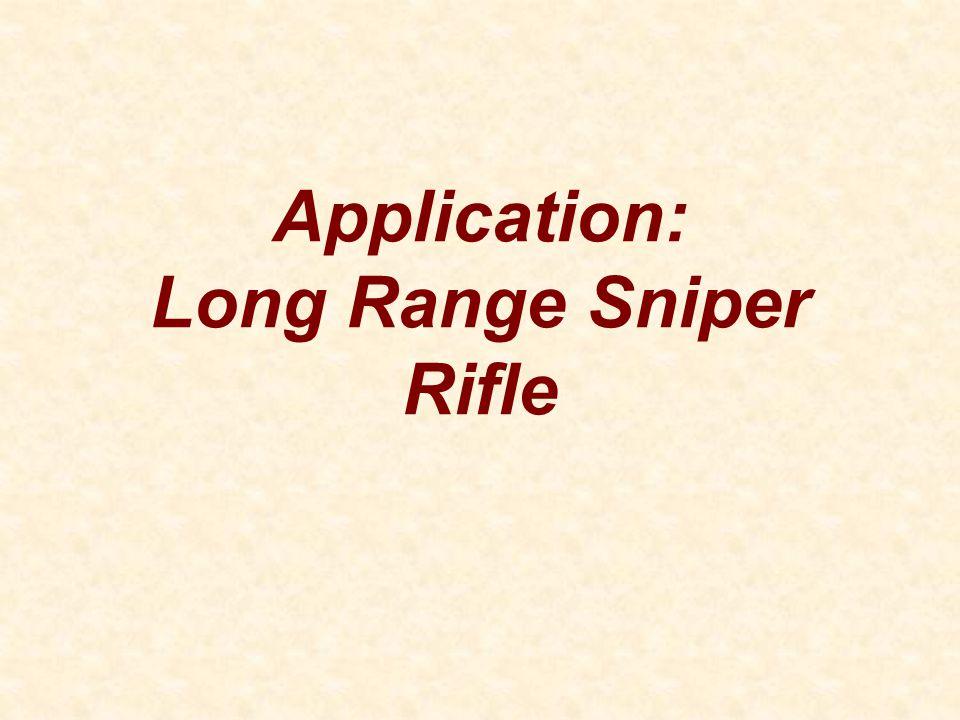 Application: Long Range Sniper Rifle