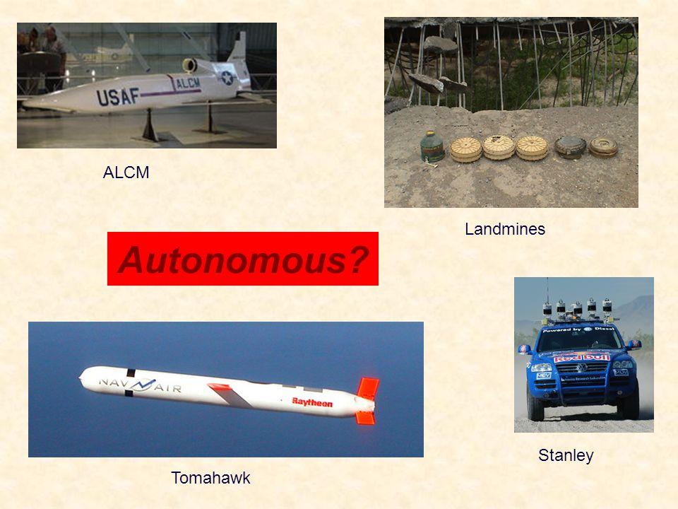 Autonomous? Tomahawk ALCM Stanley Landmines
