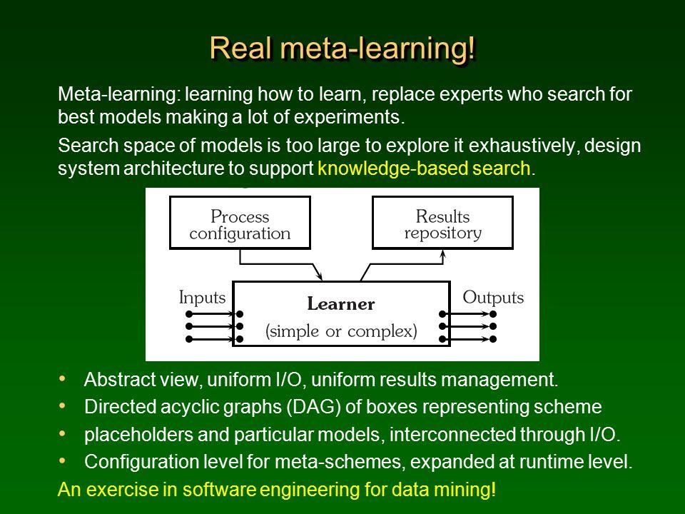 Real meta-learning.