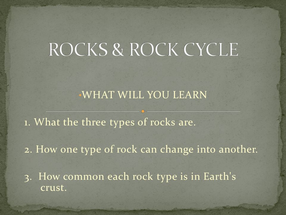 A rock is a naturally formed solid that is usually made up of one or more types of minerals.