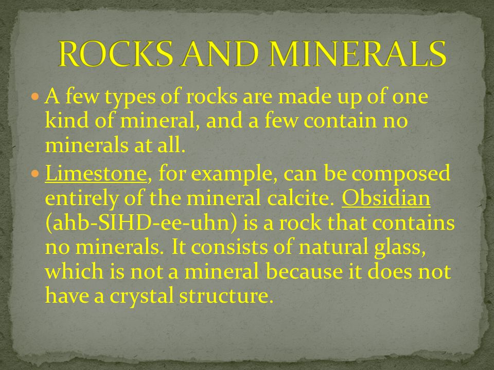 Most metamorphic rocks develop bands of minerals.