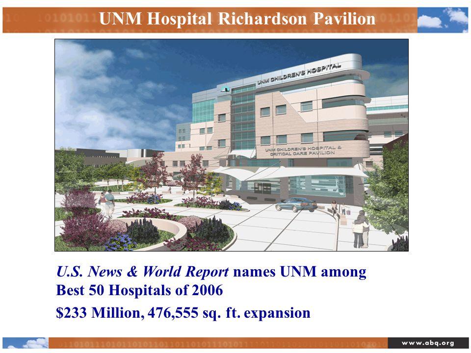 UNM Hospital Richardson Pavilion U.S.