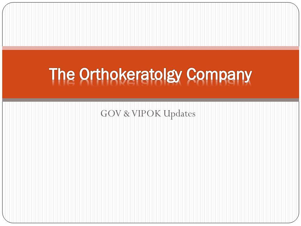 GOV & VIPOK Updates