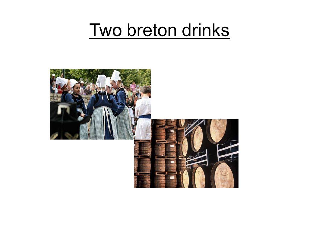Two breton drinks