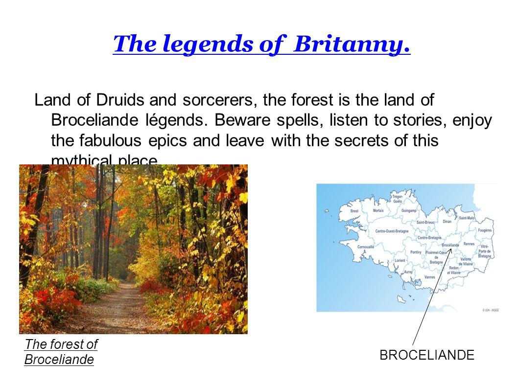 The legends of Britanny.