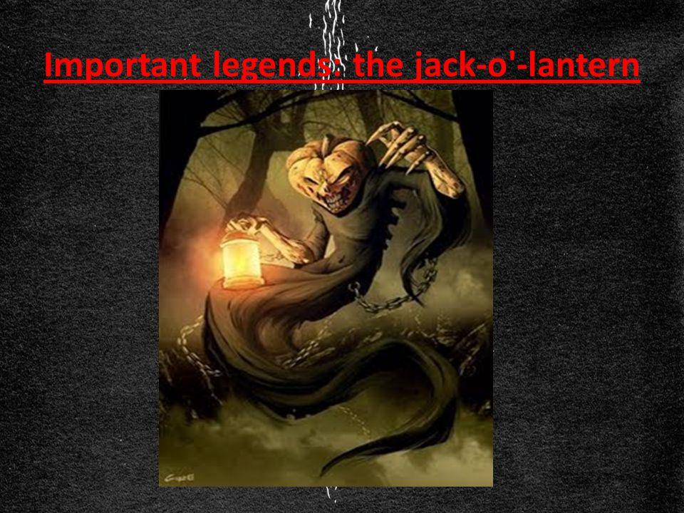 Important legends: the jack-o -lantern