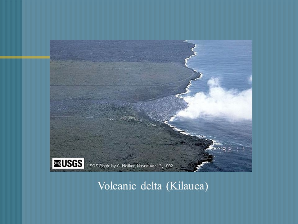 Volcanic delta (Kilauea)