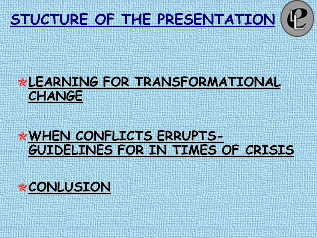 STUCTURE OF THE PRESENTATION SYSTEMS THINKING PRESENCEINQUIRY CONCIOUS CONVERSATION DIALOUGEBRIDGINGINNOVATION