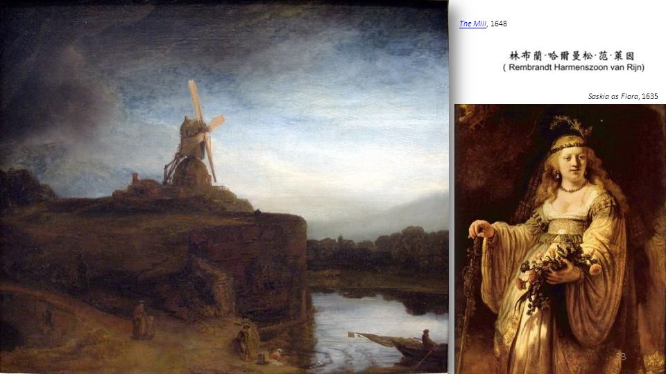 Belshassar's Feast, 1636-8 Rembrandt and Saskia pose as