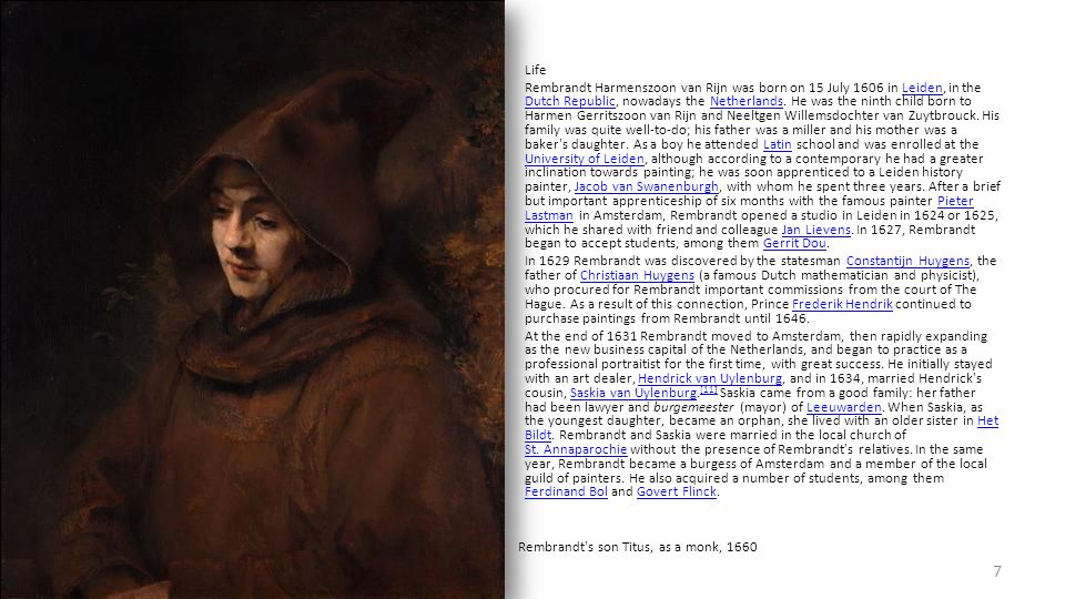The piece was commissioned for the new hall of the Kloveniersdoelen, the musketeer branch of the civic militia.