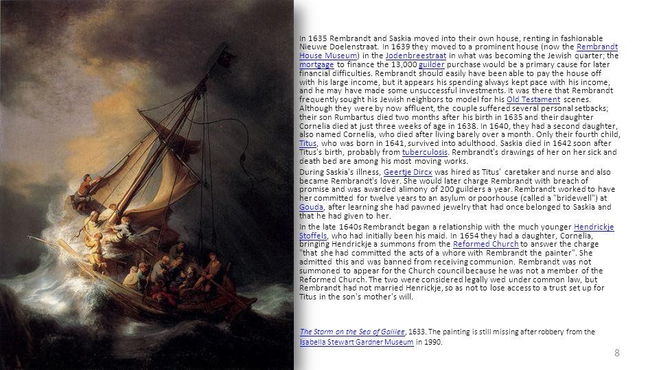 Rembrandt Harmenszoon van Rijn 《 以马忤斯的晚餐》 1648 年 ; 木板油画 The Louvre 48