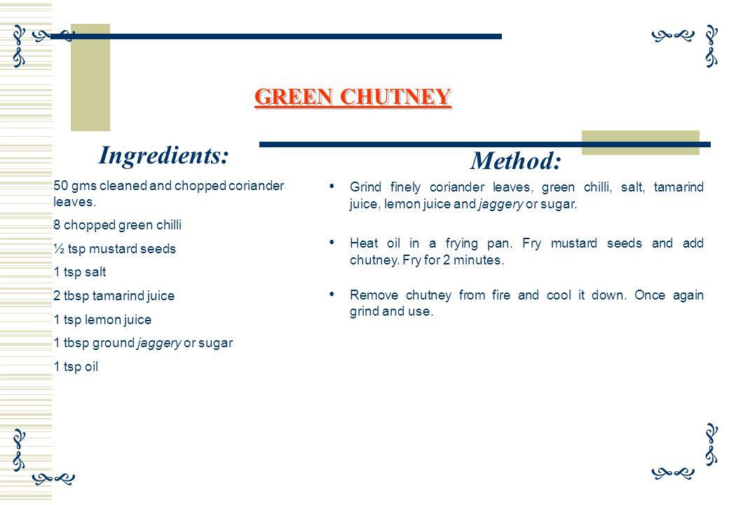  Ingredients: 1 cup semolina (rawa) 1½ cup sour curd ½ tsp salt RAWA IDLI Method: Take a big bowl, add semolina, curd and slat.