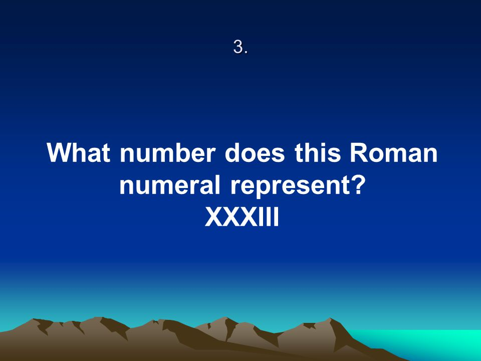 4. List all of the PRIME numbers between 0 and 30.