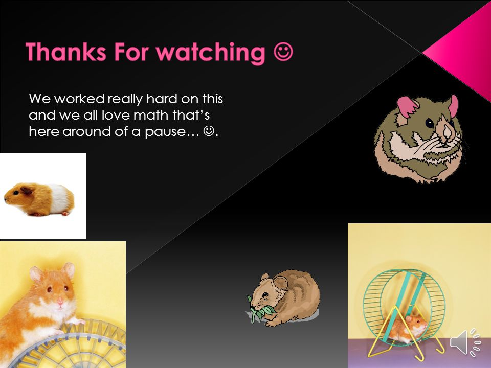 We used clip art and Google images we searched Multiplication For Kids.