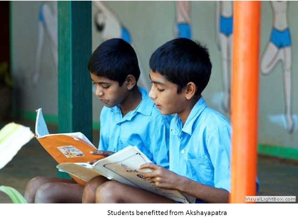 Students benefitted from Akshayapatra