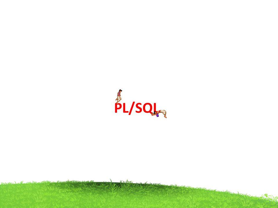 PL/SQL String function concat() example declare s1 varchar(4):= popo ; s2 varchar(3):= sir ; begin dbms_output.put_line(concat(s1,s2)); end; Output poposir