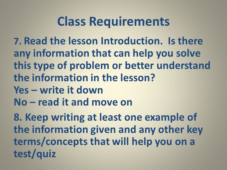 7. Read the lesson Introduction.